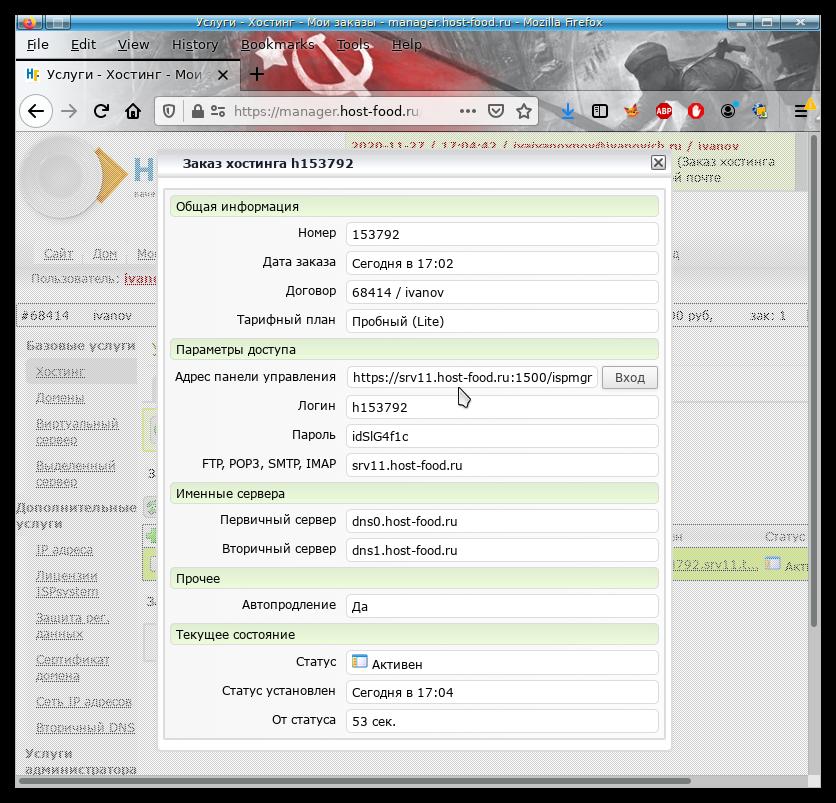 Как узнать dns сервер хостинга создание сайтов электросталь ins